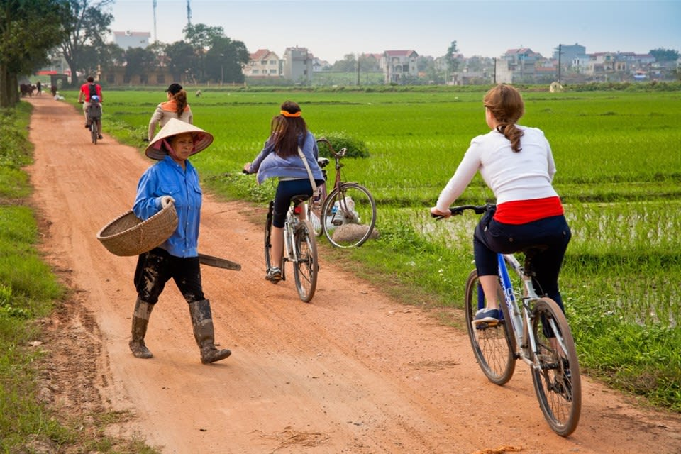 Hanoi's Rural Life by Bike