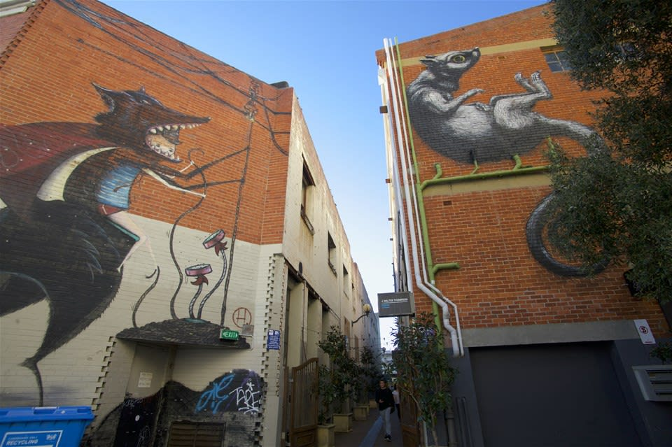 Perth's Arcades & Laneways