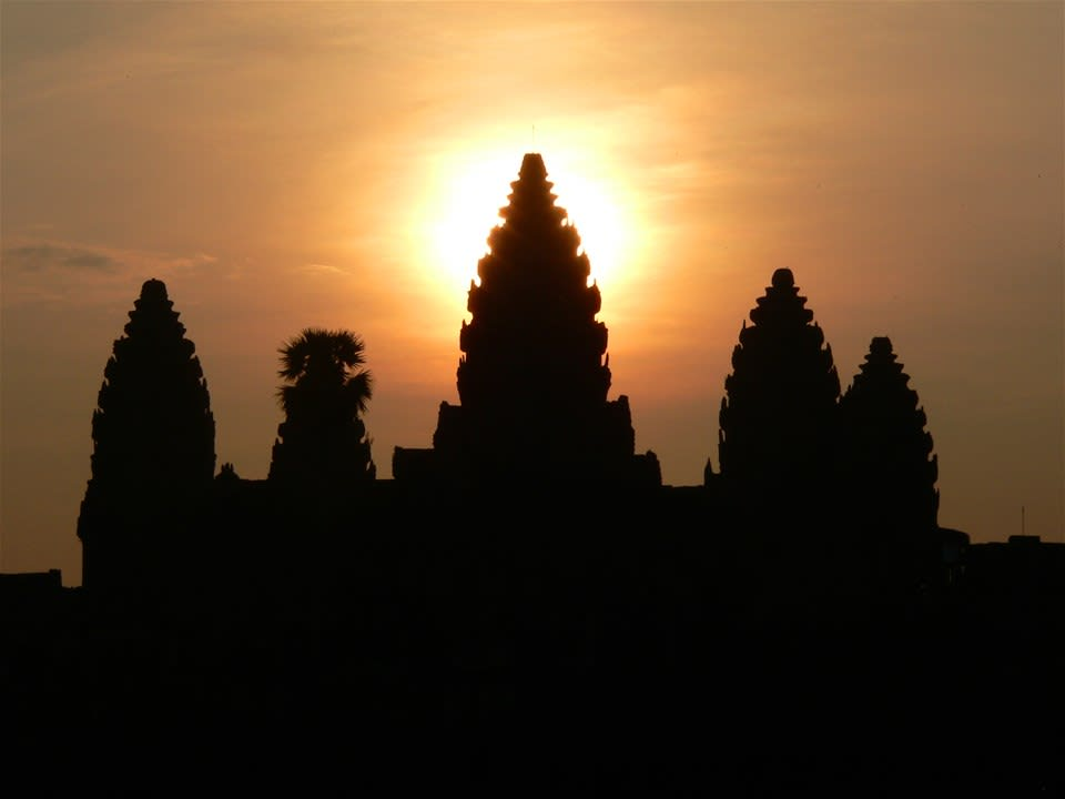 Champagne Sunrise over Angkor
