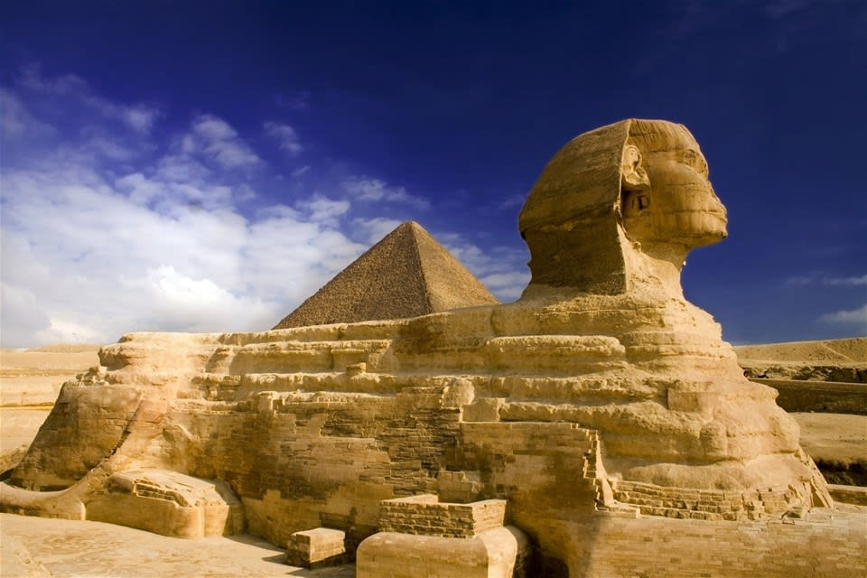 Egyptian Museum, Pyramids & Sphinx Tour