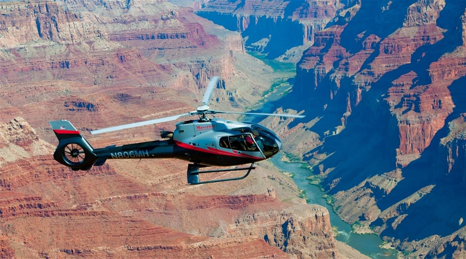 Wind Dancer Helicopter Tour with Grand Canyon Landing
