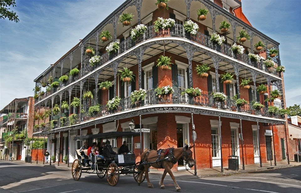 Louisiana - New Orleans, Cajuns & Plantations