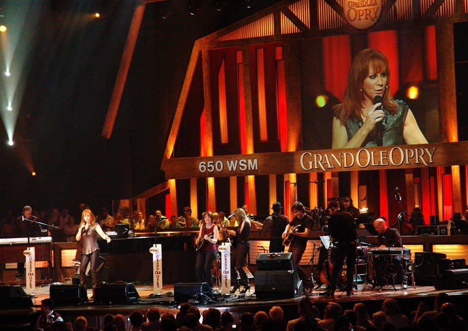 Performance at The Grand Ole Opry
