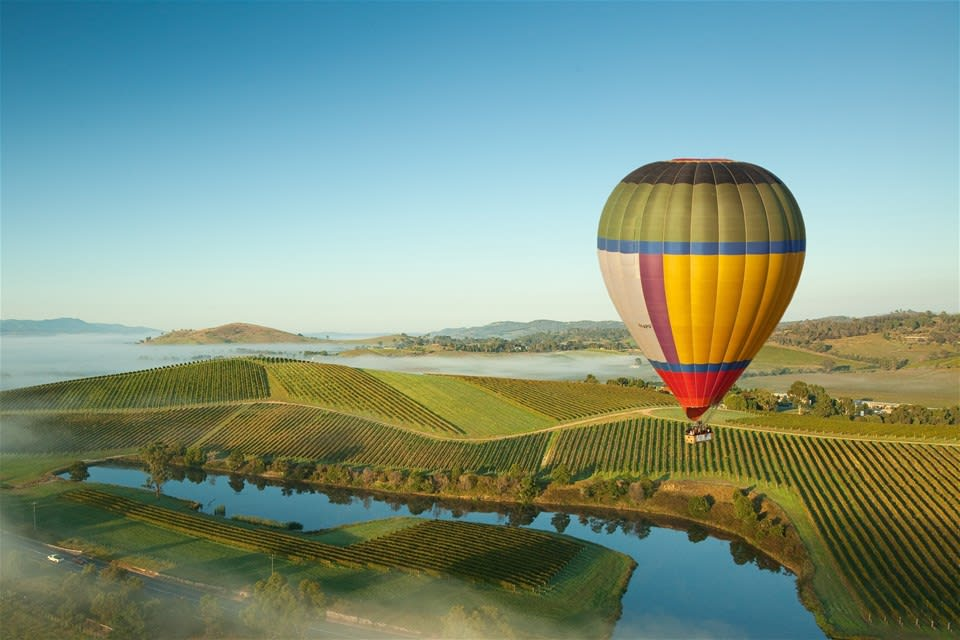 Yarra Valley Hot Air Balloon Flight