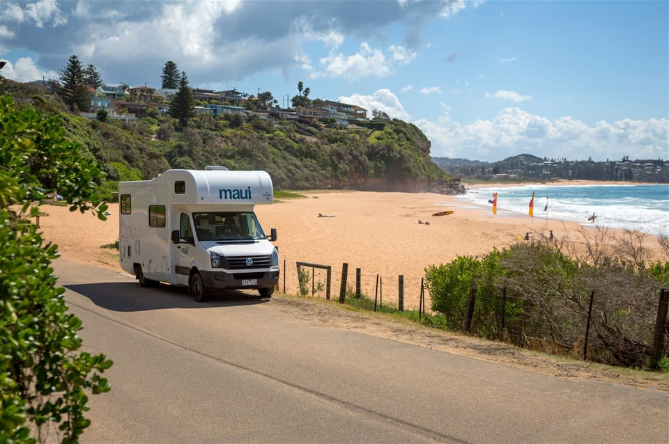 Pacific Coastal Run - Motorhome Holiday
