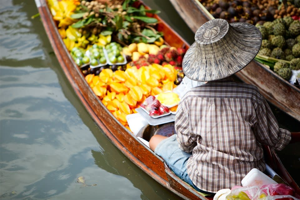 Floating Markets Tour