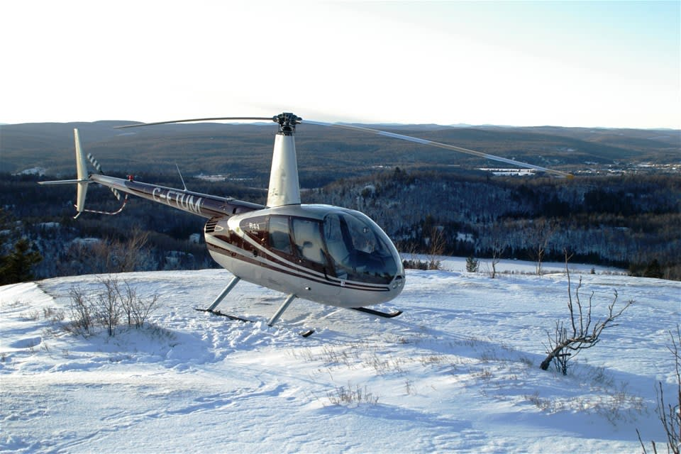 Tremblant Helicopter Flight