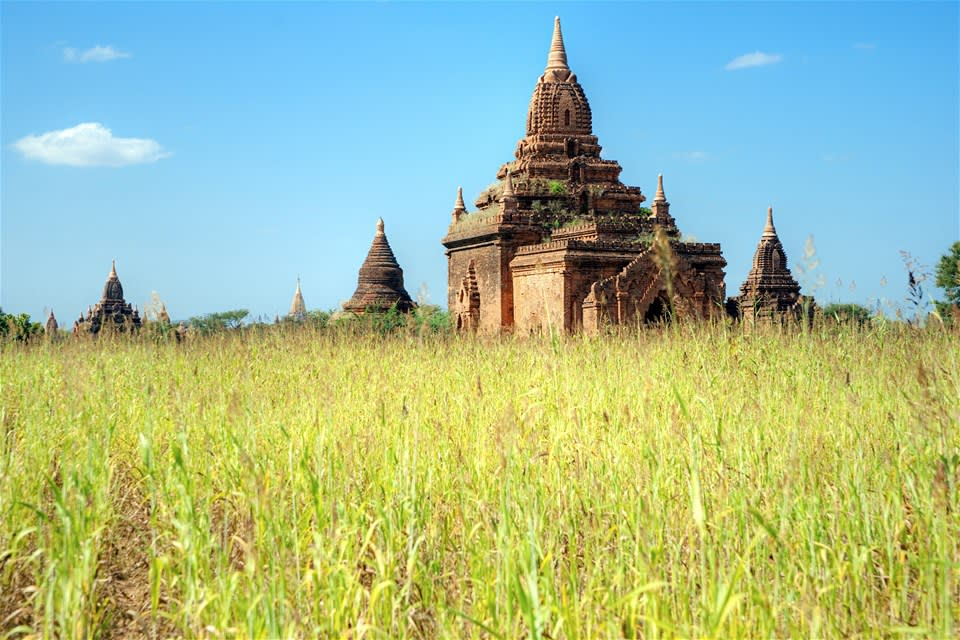 Bagan Temple Biking