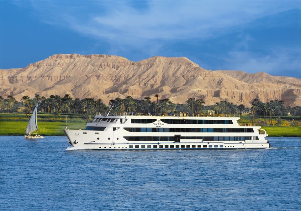Oberoi Zahra 3 night Nile Cruise Aswan-Luxor