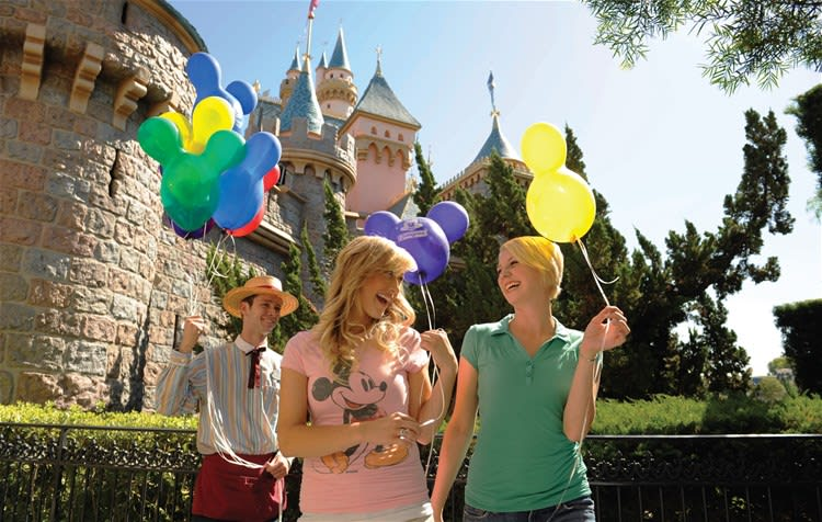 Disneyland Resort 3 Day Park Hopper Bonus Ticket with Magic Morning