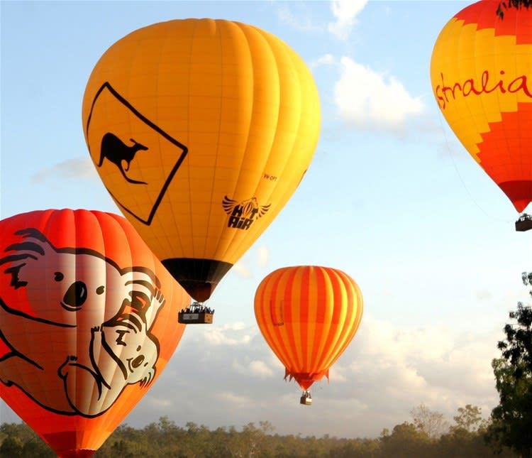 Atherton Tablelands Hot Air Balloon Flight