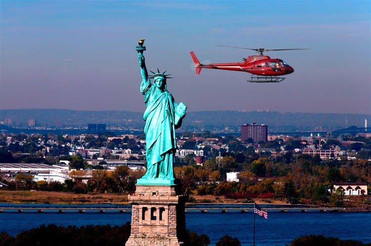 New York, New York by Helicopter