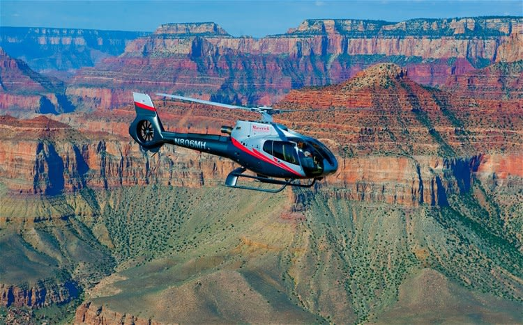 Canyon Spirit Helicopter Flight