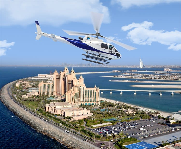Dubai by Helicopter