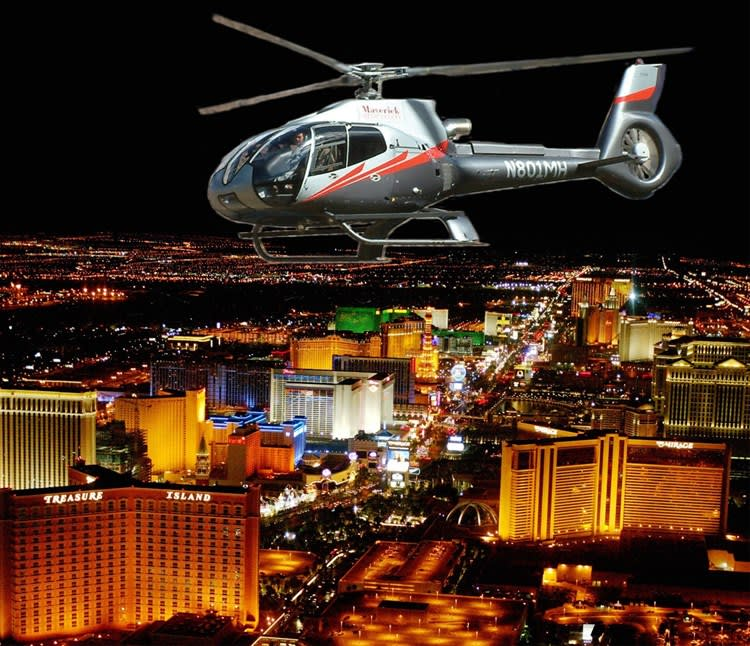 Vegas Nights Helicopter Flight