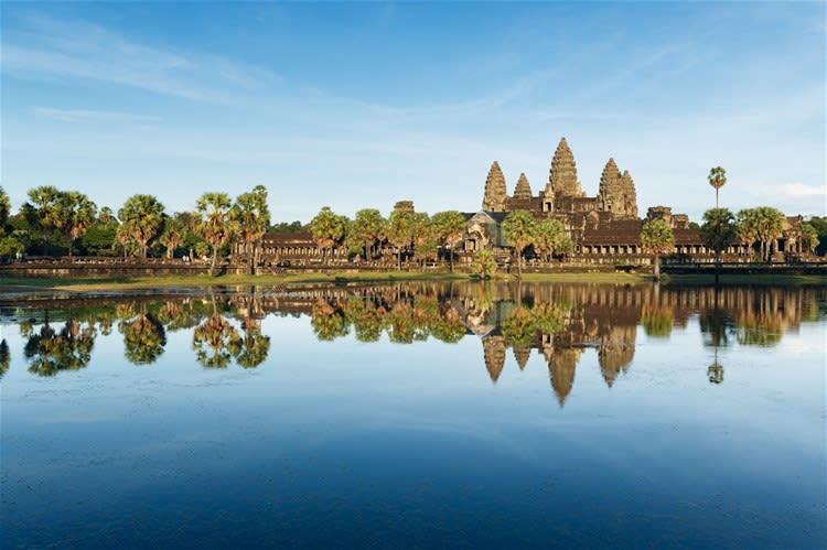 The Khmer Temples of Angkor