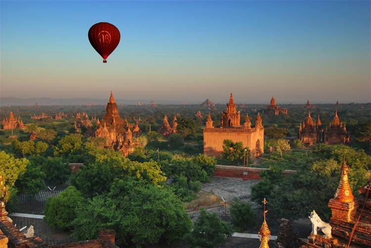 Balloon Experience over Bagan