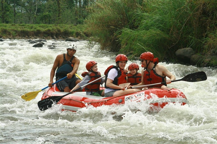 White Water Rafting Rio Balsa River