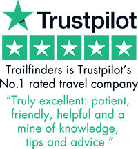 Trailfinders is Trustpilot's No.1 rated travel company