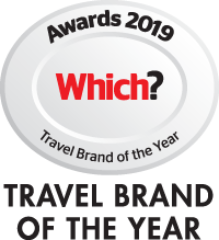 Which? Travel Brand of the Year 2019