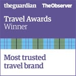 The Guardian & The Observer Travel Awards - Most Trusted Travel Brand