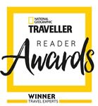 National Geographic reader award - Travel Experts